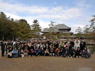 短期語言研修課程冬期1的校外教學(奈良)